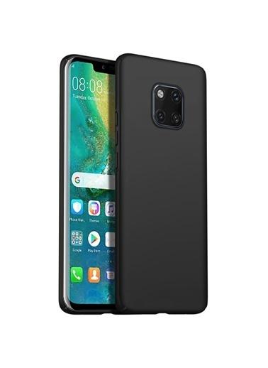 Microsonic Huawei Mate 20 Pro Kılıf Premium Slim  Siyah